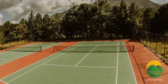 TEOTEPEC - Canchas de tennis